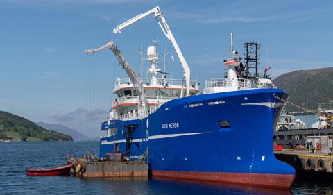 Aqua Merdø - Slaktebåt - Cflow leveranser