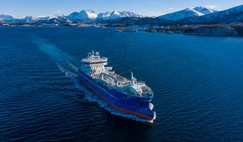 Aqua-Skye - Brønnbåt - Cflow deliveries