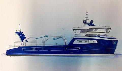 Gåsø Høvding - Verdens-største brønnbåt - Cflow deliveries