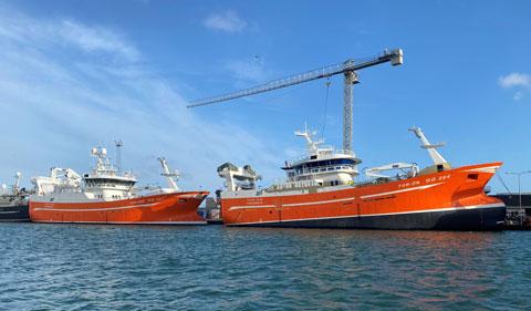 Torland-og-Tor-Ön-Søsterskip - Cflow deliveries
